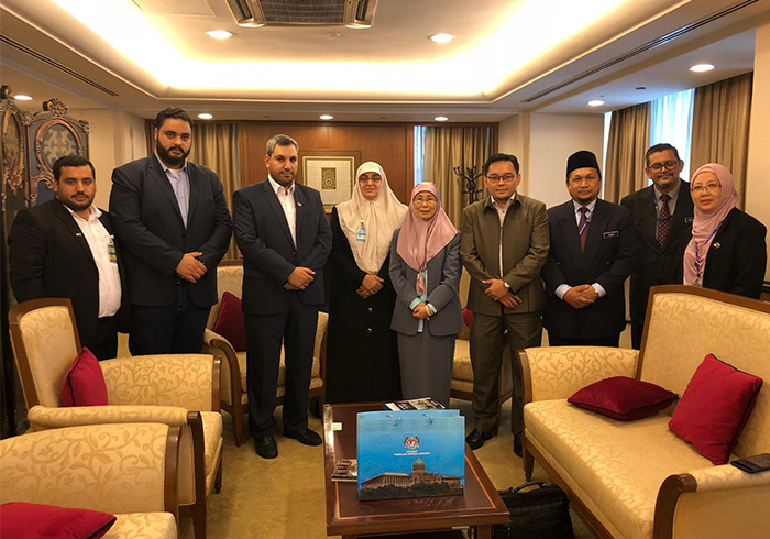 al-Quds Foundation Malaysia visited  Dato' Dr. Wan Aziza Ismail
