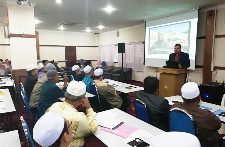 The forum of Imams of the state of Kedah to defend Masjid Al-Aqsa