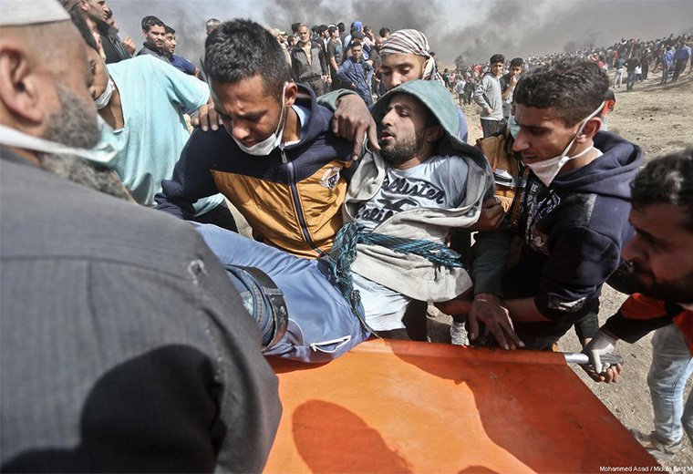 Report: 83 Palestinians killed and 7,000 injured during past month