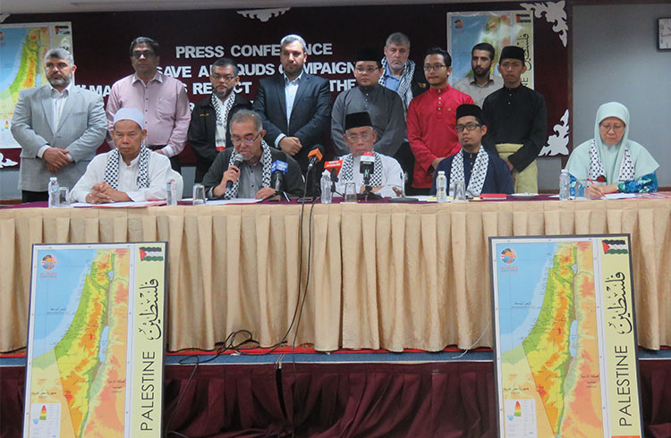 "Save al-Quds Campaign denounces ""Deal of the Century"""